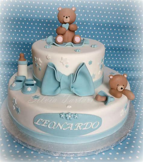 Per Baby Shower by Zuccherosamente Torta Con Orsetti Per Un Baby Shower