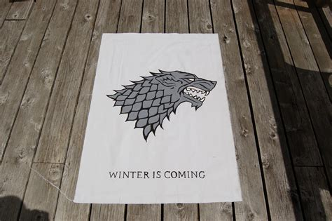 house of stark game of thrones house stark banner www imgkid com the