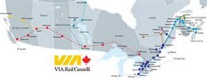 canada via rail map cafechoo image via rail canada map
