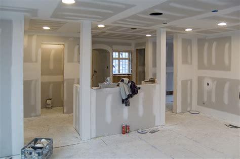 how to drywall a room drywall jenkintown tudor renovation