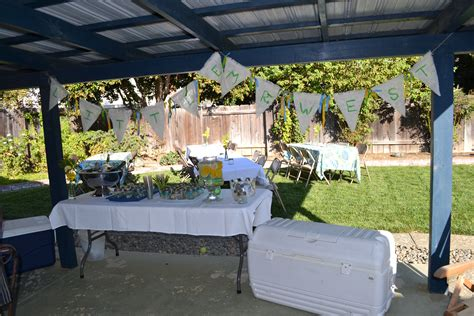 bbq baby shower decoration ideas
