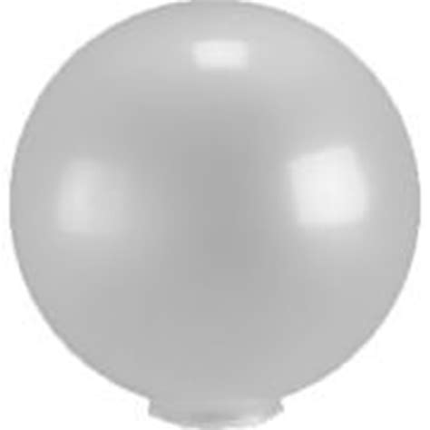 plastic globes for l post 14 inch frosted acrylic l post globe with 5 91 inch flange