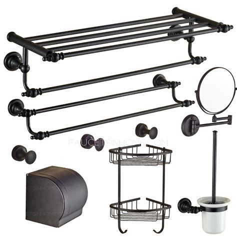 rubbed bronze bathroom accessory sets european style rubbed bronze 7 bathroom