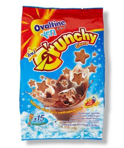 Ovaltine Crunchy Choco ovaltine cold crunchy chocolate malt 480g 15 sachets best vitamins store