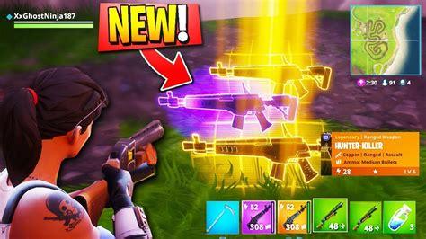 what fortnite gun are you new assault rifle fortnite gameplay new legendary