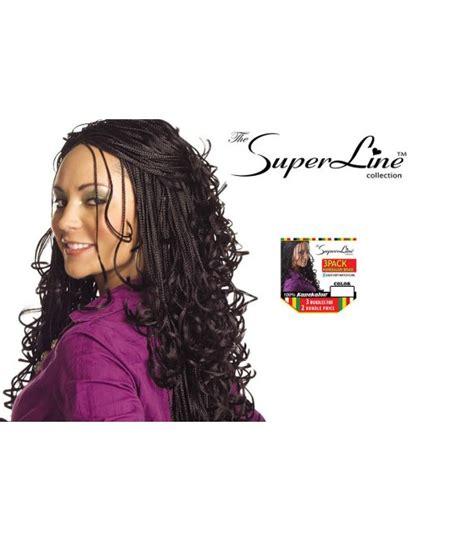 packs of kanekalon hair superline 3 pack kanekalon braid