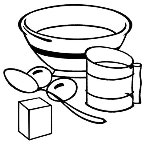 kitchen supplies coloring pages 500 best food drink and cooking coloring pages images on