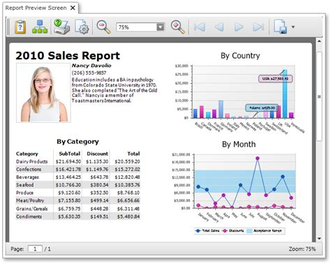 layout view shows a report on the screen lightswitch reporting showing your reports in a separate