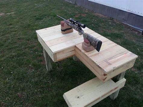 homemade shooting bench plans diy shooting bench plans image mag