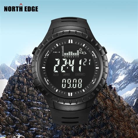 Jam Spovan Fx704 Sport For Fishing Forecast Outdoor Traveling 1 edge digital watches outdoor clock fishing altimeter barometer thermometer