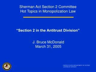 Section 1 Sherman Act by Ppt Topics In Employment Powerpoint Presentation
