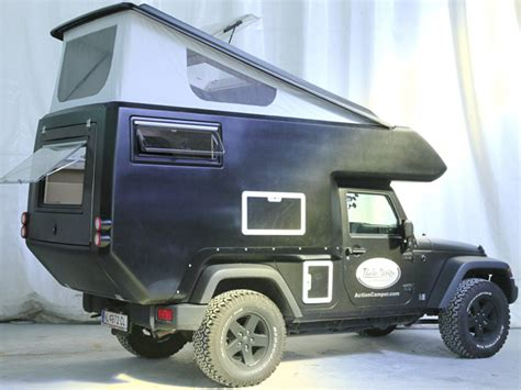 Jeep Rv Conversion Kit Transforms Jeep Wrangler Into Cer Ute Rv Business