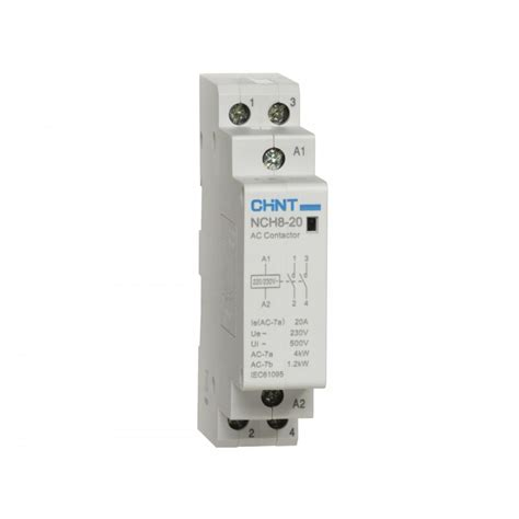 Panel Interlock 2 Phase Chint chint 20a 2pole 2no contactor nch8 20 yesss electrical