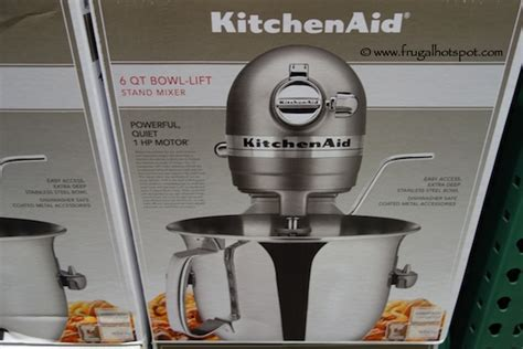 costco kitchen aid mixer costco deal kitchenaid professional 6 quart stand mixer frugal hotspot
