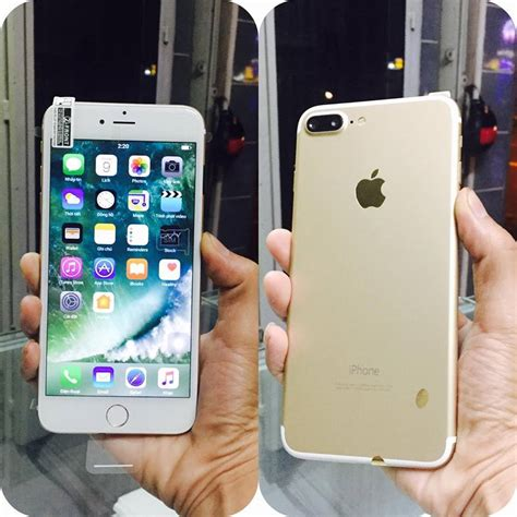 iphone 7s plus 2sim android os10 với k 233 p