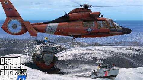 sinking boat gta 5 gta 5 lspdfr uscg coastal callouts sinking tug boat