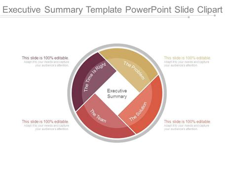 Executive Summary Template Powerpoint Slide Clipart Powerpoint Design Template Sle Executive Summary Slide Template