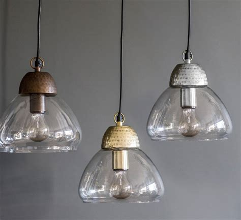 Etched Metal And Glass Pendant Lights By The Forest Co Glass Pendant Lights