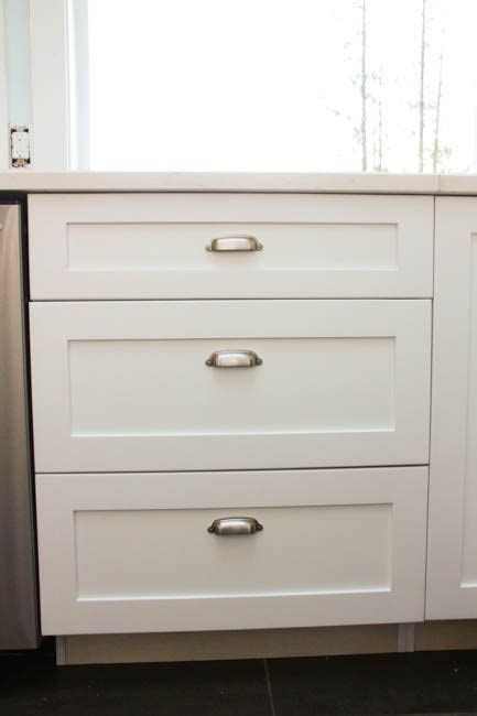 kitchen cabinet cup pulls how to install cabinet knobs with a template a trick for