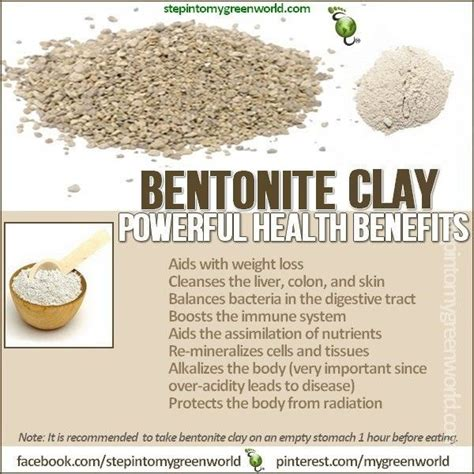 How Does It Take To Detox With Bentonite Clay by 111 Best Images About Healthful Food Infographic On