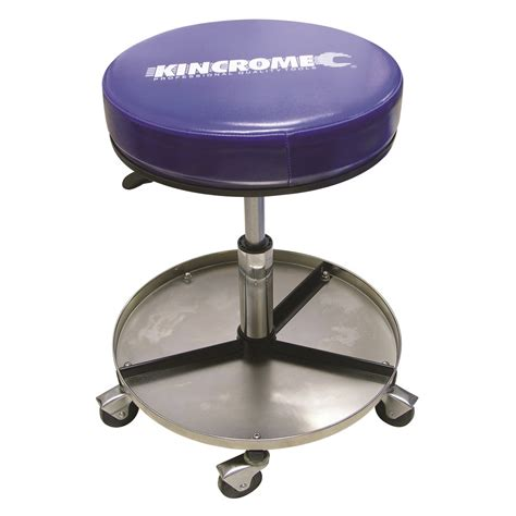 Stools Au by Pneumatic Stool Nickel Plated Creepers 12 Kincrome
