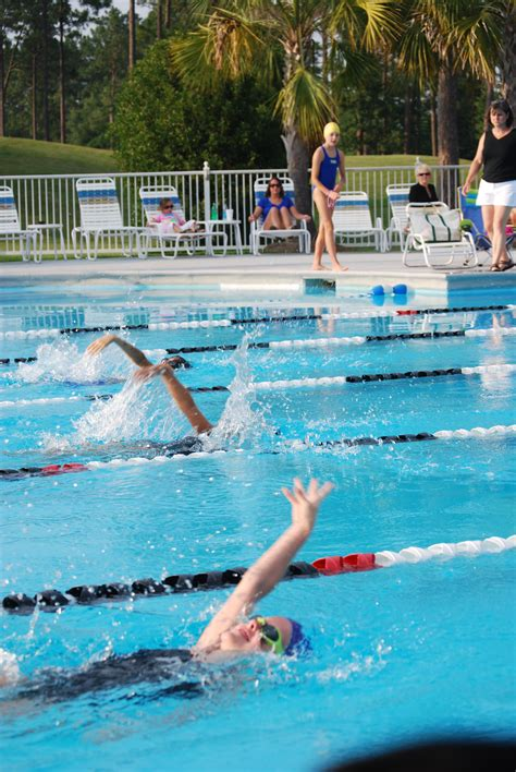 pine forest country club swim team
