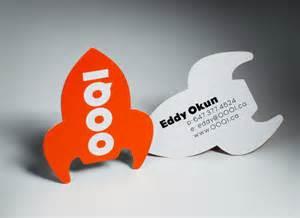 cool shaped business cards cool custom business card eddy okun cardrabbit