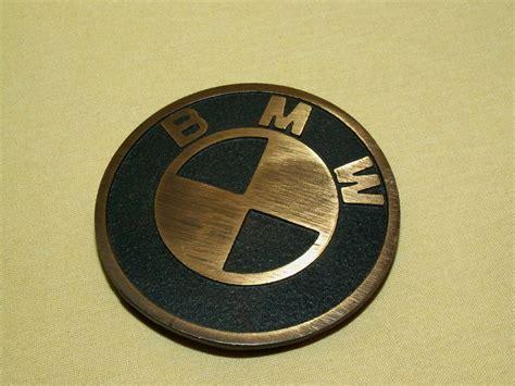 bmw belt buckle bmw belt buckle logo emblem metal brass psc vintage