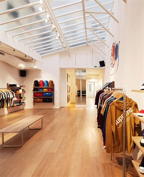 supreme store uk supreme shop store design supreme store
