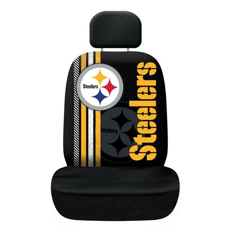 steelers car seat covers nfl rally seat covers fremont die consumer products inc