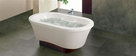 bain ultra bathtubs two person freestanding pedestal air jet tub bainultra