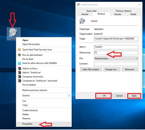 Desktop Volume by Learn New Things Shortcut Key To System Volume