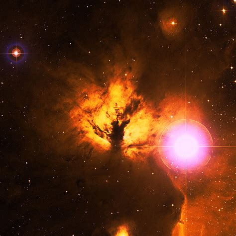 flame nebula ngc esahubble