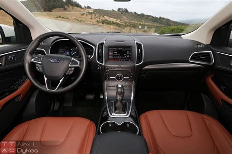 Ford Edge Interior by 2015 Ford Edge 2 0l Ecoboost Turbo Engine 001 The