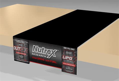 Digital Shelf by Nutrex Render