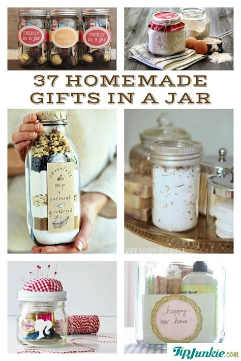 37 recipes how to make gifts in a jar random little