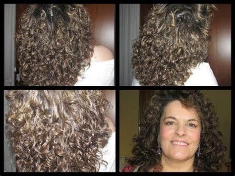 rizar el pelo en casa ondular o rizar el pelo sin calor youtube