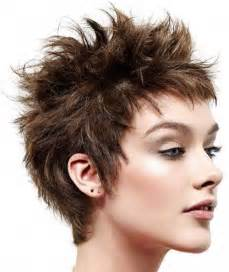 pic of back of spikey hair cuts short hairstyles short spikey hairstyles for women short
