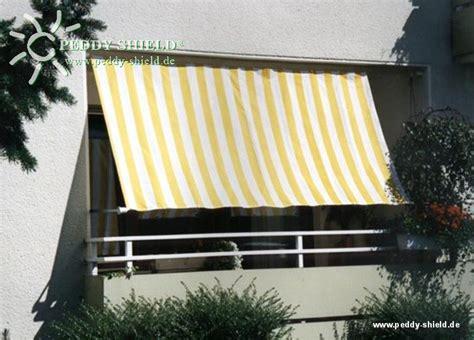 Balkon Seitenschutz by Balkon Sichtschutz Mit Faltsonnensegeln
