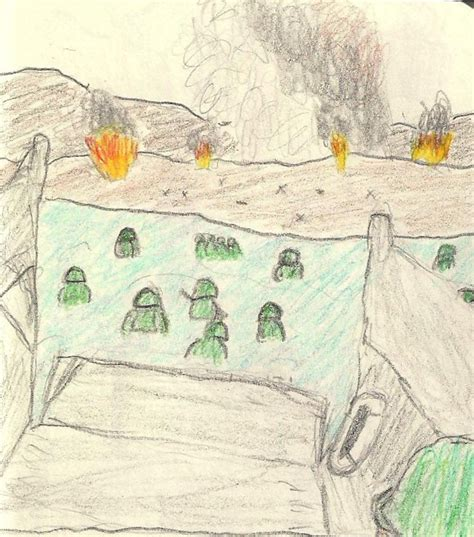 D Day Sketches by D Day Sketch By Fritzkreig On Deviantart