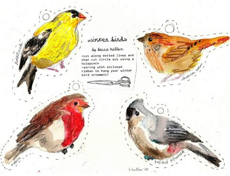 printable bird ornaments round up of the best free printable christmas wrapping