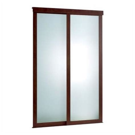 pinecroft 60 in x 80 in frosted glass fusion frosted