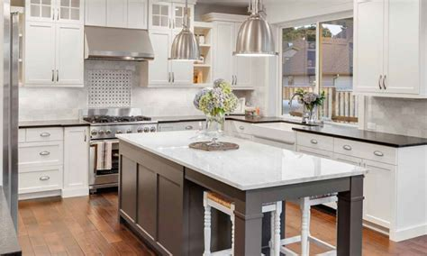 professionally painting kitchen cabinets sound finish cabinet painting refinishing seattle