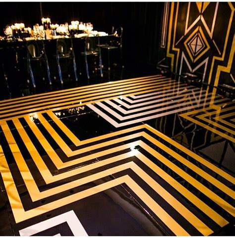 art deco flooring black and gold art deco art nouveau pinterest