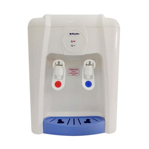 Dispenser Miyako Panas Normal harga miyako water dispenser wd 190 ph putih biru