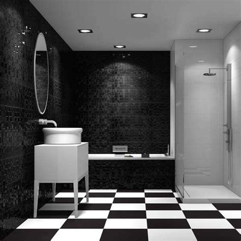 Black White And Silver Bathroom by Bathroom Ideas For 2016 Walls And Floors