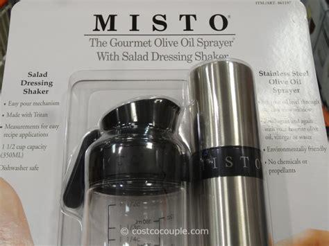 Misto Oil Sprayer and Salad Dressing Shaker Set