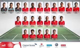 23 joueurs suisse pour coupe du monde 2014 br 233 sil