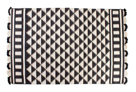 black and white rug trendy decor from arro home bedding rugs textiles and more