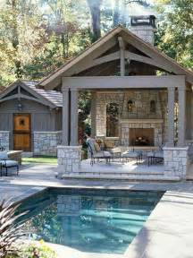 Backyard Pool House 14 Comfortable And Modern Backyard Pool Ideas Home